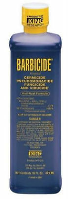 3 bottles  Barbicide Anti-rust Formula Disinfectant  Germicidal Solution 16 Oz