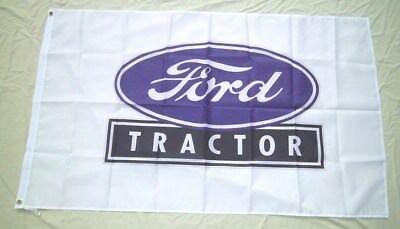 Ford Tractor 3' X 5' Polyester Flag Banner Man Cave Bar Shop NEW # 404