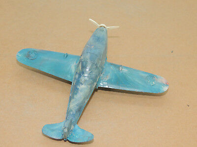 P-39 Plane Made by Ideal USA 4.5x5 inches (14289)