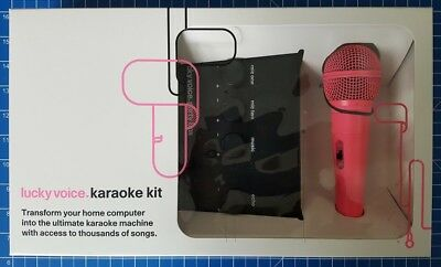 Lucky Voice Karaoke Machine, Pink / Gold / Blue / White