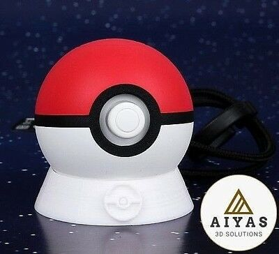 Pokeball Plus Stand Soporte Pokemon Let's Go Pikachu & Evee Quality 3D Printed
