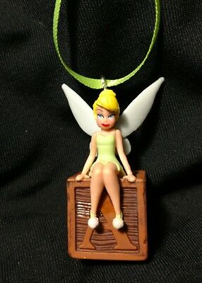 New Disney Peter Pan Tinkerbell Christmas Ornament Tinker Bell Fairy Classic