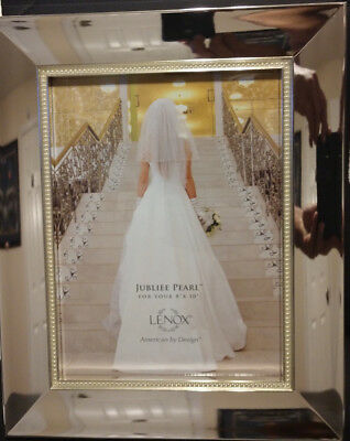 Lenox Jubilee Pearl 8x10 Picture Frame