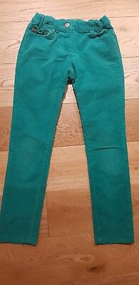 Mini Boden Girls Green Cord Jeans Age 9 Years