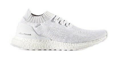 7e51189a90e4 adidas Ultra Boost Uncaged Running Trainers S80780 UK 7.5 US 9 BNIB White  Grey