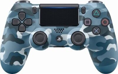 Official Sony PlayStation 4 PS4 Dualshock4 Wireless Controller (Blue Camo) Gen2