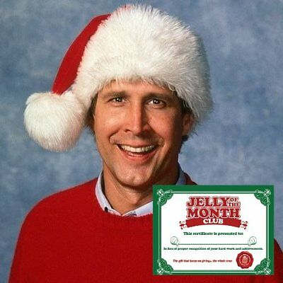 National Lampoon's Christmas Vacation Jelly Of The Month Club Certificate Custom