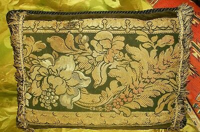 Antique Jacquard Tapestry Cushion