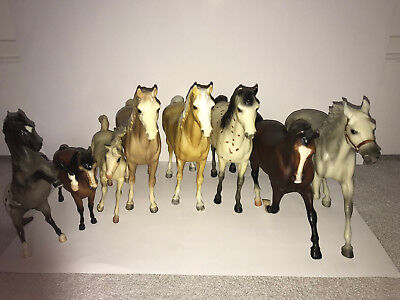 Lot of 8 Breyer Horses - 5 Traditional and 3 Classic