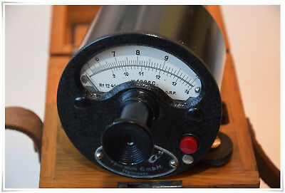 altes Pyro meter Strahlungsmesser Strahlungsthermometer Thermometer