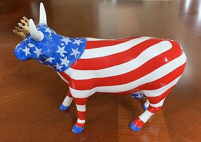 cow parade cows figurines item 9189 American Royal Ceramic
