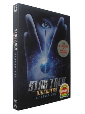 Star Trek Discovery Season One (DVD, 2018, 4-Disc Set) New