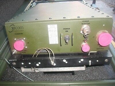 Xicom Technology Multiband Traveling Wave Tube Amplifiers (jb127)