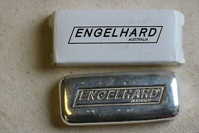 ENGELHARD AUSTRALIA CAST BAR .999 - 5 oz of Pure Silver - Serial Number