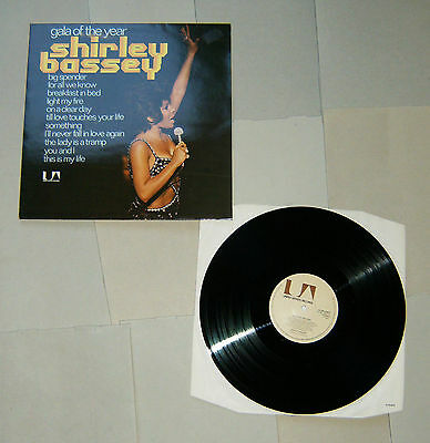 Shirley Bassey  -  Gala of the Year  -  LP  -  Vinyl