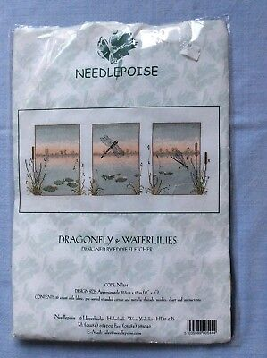 Needlepoise Dragon & Waterlilies Kit