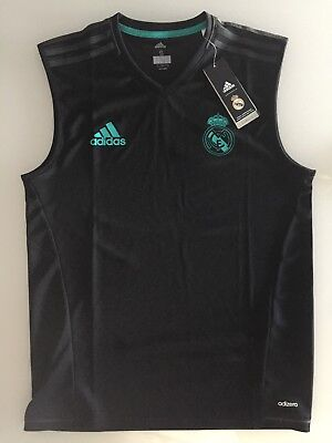 ADIDAS Real Madrid Trainings Jersey 2017/2018 Black EUR_S