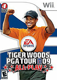 Tiger Woods PGA Tour 09: All-Play Nintendo Wii game