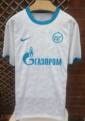 Zenit St Petersburg Mens Size Large 2011/12 Away Nike Russian Football Shirt