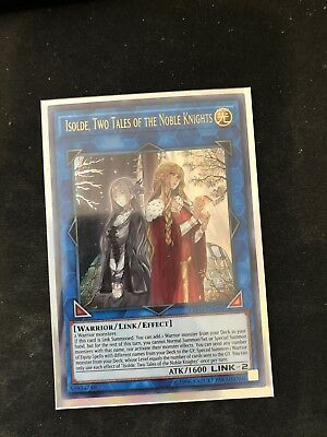 Yugioh Isolde, Two Tales of The Noble Knights EXFO-EN094 Ultra Rare