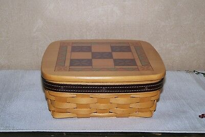 2001 Longaberger Father's Day Tic Tac Toe Basket – Used