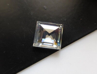 OOAK 1.50CTW 7.9MM Clear White Loose Moissanite Rose Cut Cabochon For Ring MM87