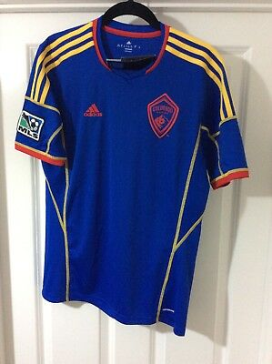 Size Age 15-16 Years COLORADO RAPIDS Football Soccer Shirt Jersey MLS Adidas New