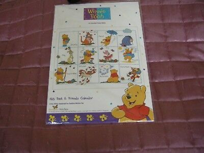 Cross Stitch Kit Pooh and Friends