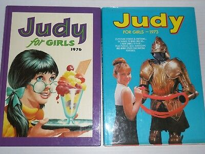 Judy For Girls 1973 and 1976 Editions