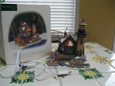 Department 56 Dickens Village Lynton Point Lighthouse, 58513