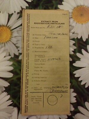 Fordson Tractor Logbook