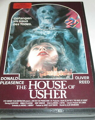 21st Century 21002 - Rarität - The House... - VHS/Horror/Oliver Reed/Hartbox