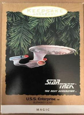 1993 Hallmark Star Trek Uss Enterprise *magic*