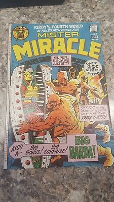 Mister Miracle #4 (Sep-Oct 1971, DC) NICE GRADE Jack kirby