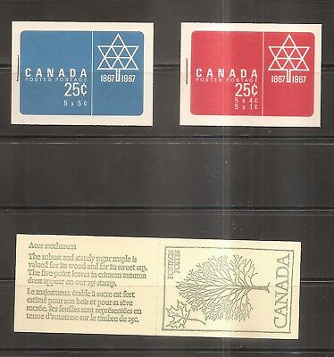 Canada - Mint Never Hinged Stamps in Books From Canada.