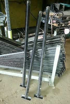1.4m angle iron post stay 40 x 40mm x5mm fencing fruit wire etc