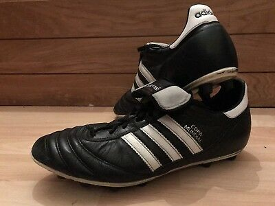 69756ac50 Adidas Copa Mundial Fg Moulds Football Boots Mens Uk 11 Black White Leather
