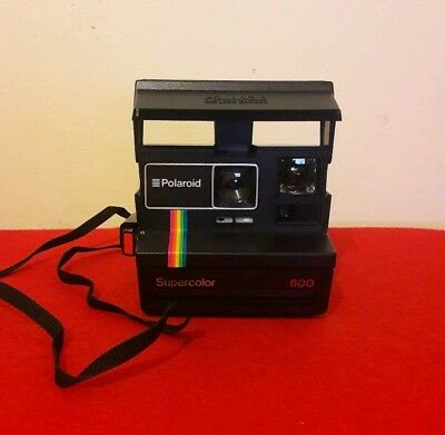 Polaroid Supercolor 600 Instant Film Land Camera - Fully Working