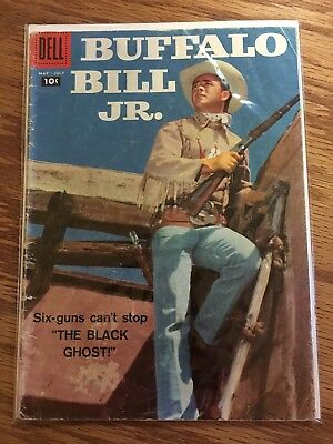 Buffalo Bill Junior comic book May-July 1958