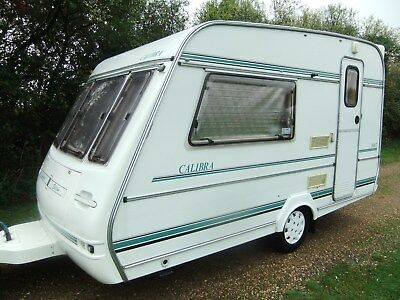 Compass Calibra 360/2' End Kitchen 'single Axle' '2 Berth' '770'kg' Lim-Edition'