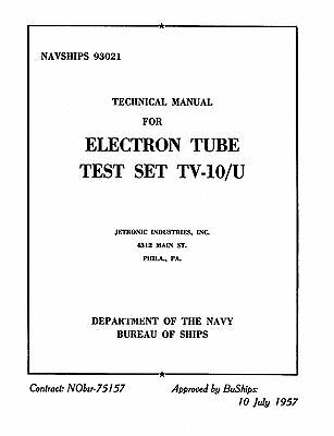 Test, Measurement & Inspection Operation Manual For Seco 1100 Tube ...