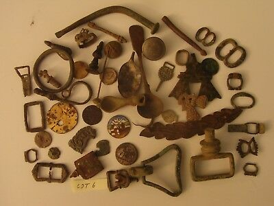 Medieval and later metal detecting finds