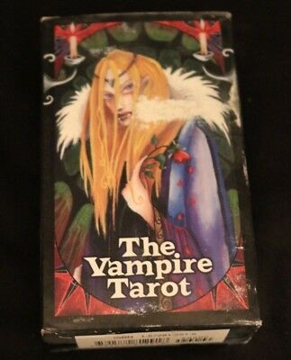 The Vampire Tarot Card Deck by Nathalie Hertz 2000 w Guide Book and 78 Cards