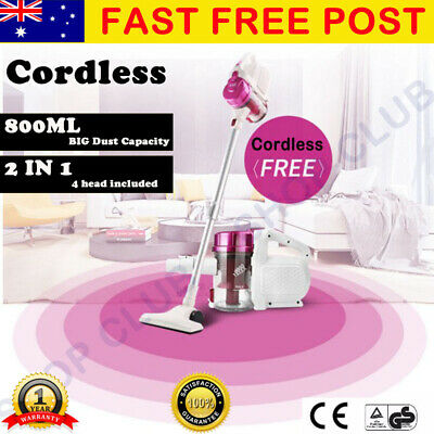 Stick Vacuum Cleaner Rechargeable Cordless Handheld Handstick Vac Bagless Gift