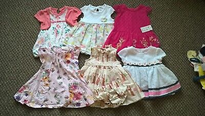 Baby Girl Clothes Summer Dress Bundle Newborn / First Size / Up to 1 month