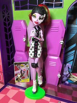 Monster High Doll - Operetta - Skultimate Roller Maze - Great Condition