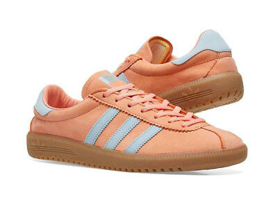 big sale 1e0e1 23d01 bnib ADIDAS BERMUDA uk 8.5 chalk coral  pink  ash grey  gum sole spzl