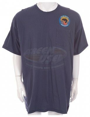Only The Brave 2017 Film Blue River Hot Shots T-Shirt Screen Used COA Worn Prop