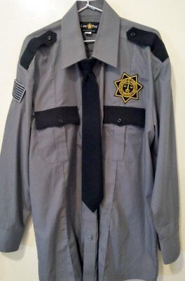 Scream The TV Show Screen Used Worn Department Of Corrections Officer Shirt Prop