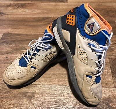 Vintage 1991 Nike ACG Air Mowabb High OG Shoes Rattan Birch Mens Size 10 RARE